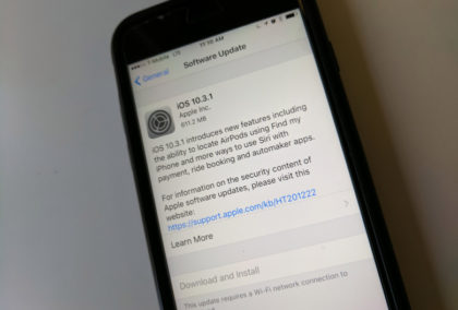 Apple releases iOS 10.three.1 with safety repair, 32-bit assist