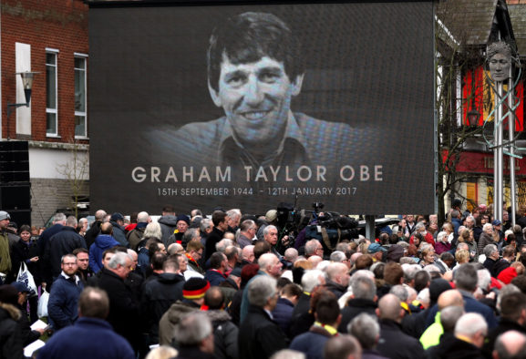 Graham Taylor Funeral Sees Soccer Followers And Stars Collect In Watford