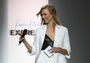 Karlie Kloss Placed on an Emotional Homecoming Runway Present with Categorical