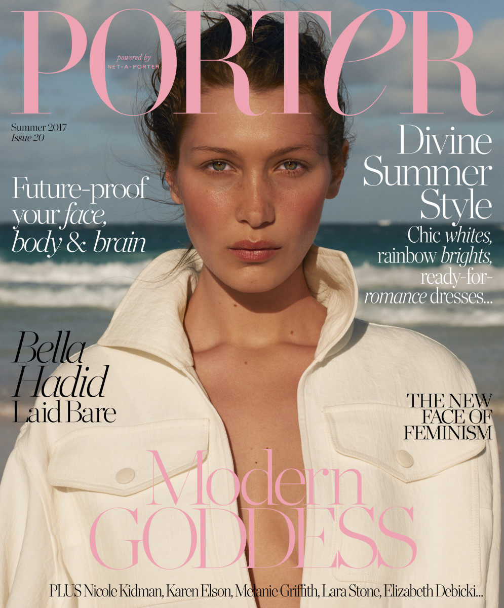 Bella Hadid for Porter. Photo: Terry Richardson/Porter